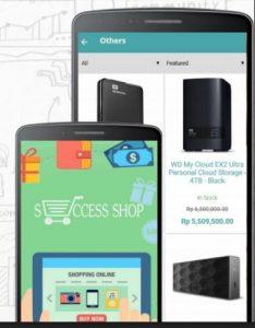 aplikasi mobile untuk online shop