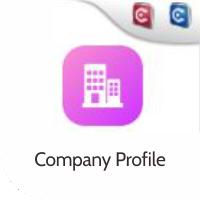mobile app untuk company profile