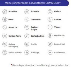 bikin aplikasi android & IOS untuk komunitas