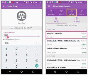 aplikasi pembayaran digital, member card digital