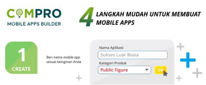 cara membuat aplikasi online 1