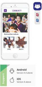 bikin aplikasi online untuk komunitas