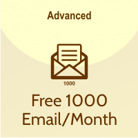 free 1000 email/month