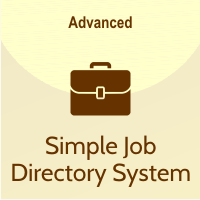 simple job directory system