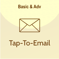 fitur tap to email
