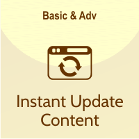 fitur instant update content