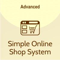 simple online shop system