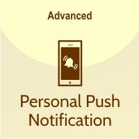 fitur personal push notifikasi