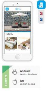 bikin aplikasi android & IOS hotel
